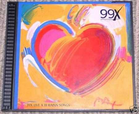 99X Live X III front cover